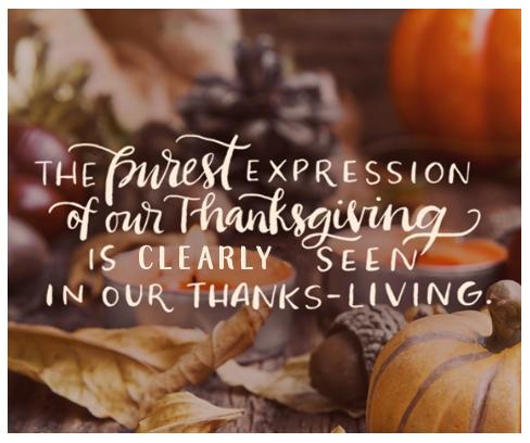 Happy thanks-living